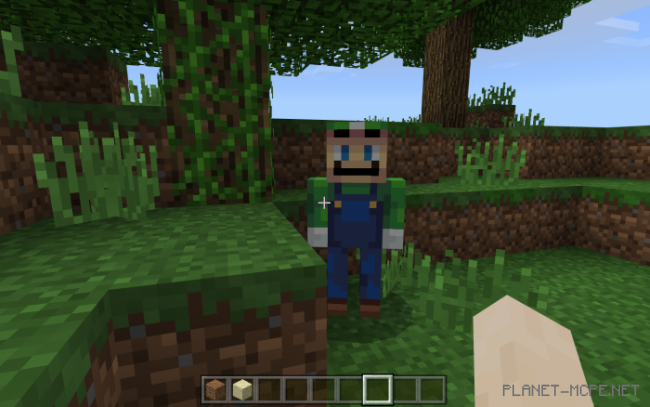 Текстуры Luigi the Creeper 1.9