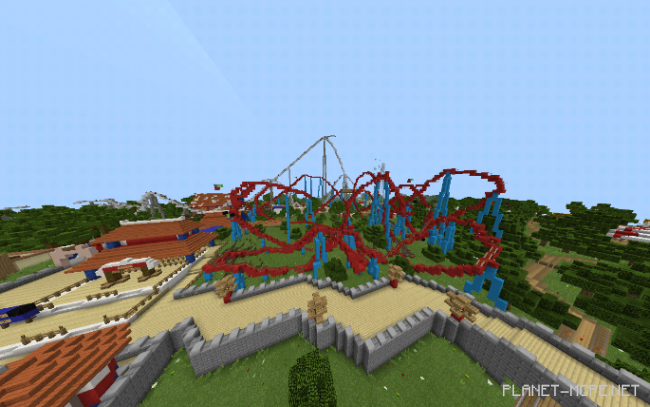 Карта PortAventura World