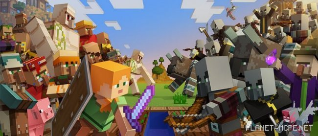 «Village and Pillage» для Minecraft Bedrock