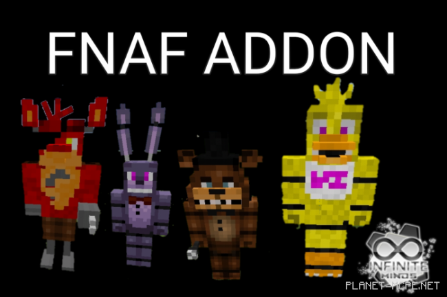 Мод Five Nights At Freddy 1.11+