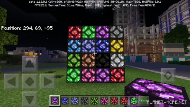 Мод Colorful Lamps 1.12