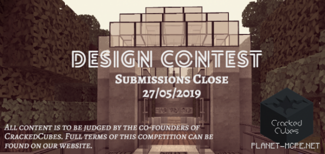Карта CrackedCubes Design Competition