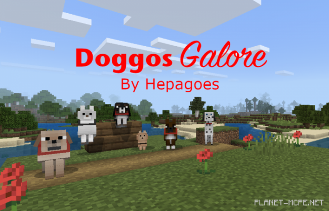 Мод Doggos Galore 1.12+