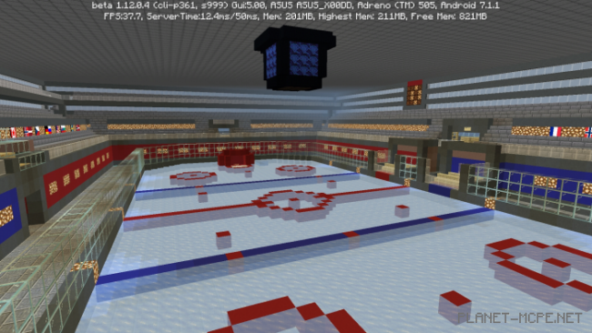 Карта Ice Hockey V2 [мини-игра]