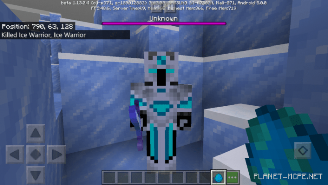 Мод Ice Warrior Boss