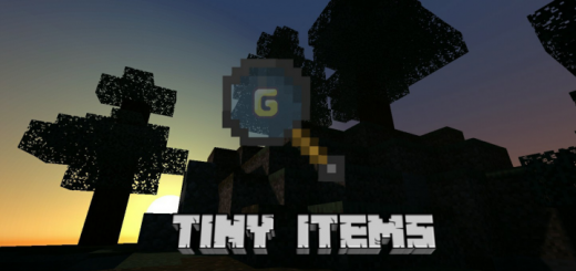 Текстурпак Tiny Items