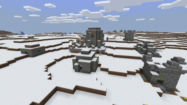 Мод Infinite Snow World (1.14)