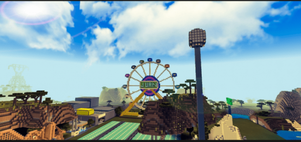 Карта Carnival for Minecraft